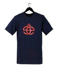 Elade-Icon Glitch T-Shirt Navy