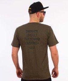 Elade-Our Theory T-Shirt Oliwkowy