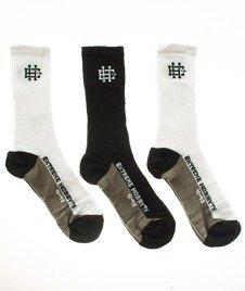 Extreme Hobby-Classic Socks Skarpety 3 Pack Białe/Czarne