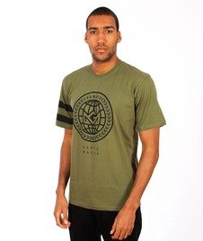 Ganja Mafia-Global Champion T-Shirt Zielony