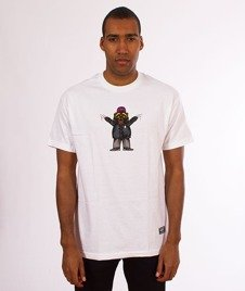Grizzly-Carnivore T-Shirt White