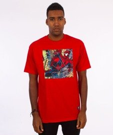 Grizzly-Spiderman Aerial T-Shirt Red