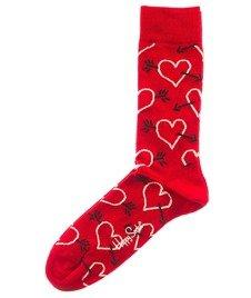 Happy Socks-Arrows & Hearts Skarpety [AH01-4000]