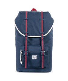 Herschel-Little America Backpack Hounds Home Navy/Red  [10014-00725]