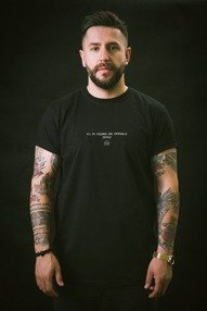 Intruz-Criminals T-Shirt Czarny
