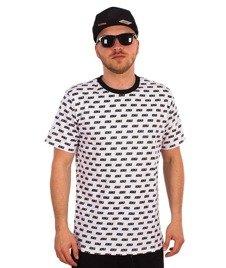 Koka-Overprint T-Shirt Biały