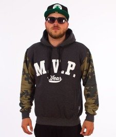 MVP Wear-MVP Moro Bluza Kaptur Grafitowy/Camo