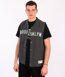 Majestic-Brooklyn Dodgers Vest Dark Grey