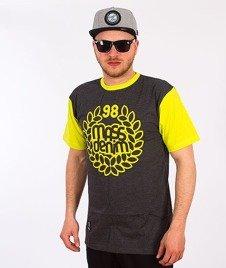 Mass-Base T-Shirt Grafit/Neon