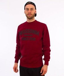 Mass-Campus Bluza Bordo
