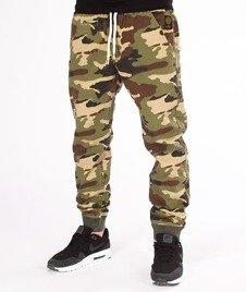 Mass-Classics Jogger Pants Spodnie Woodland Camo