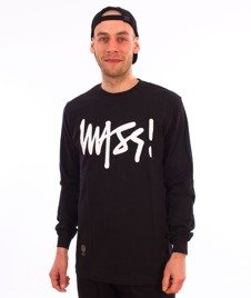 Mass-Signature Longsleeve Black