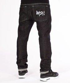 Mass-Signature Tapered Fit Jeans Spodnie Black Rinse