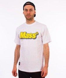 Mass-Work T-shirt Biały