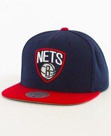 Mitchell & Ness-Brooklyn Nets Snapback EU956 Navy/Red