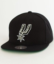 Mitchell & Ness-Solid Team Sun Antonio Spurs Snapback NL99Z