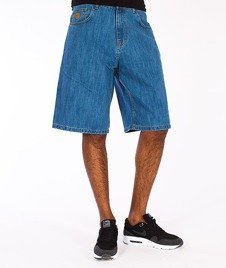 Moro Sport-Blank Spodnie Krótkie Jasny Jeans