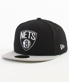 New Era-NBA Basic Brooklyn Nets Cap Black/Grey