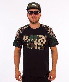 Patriotic-Camo T-shirt Czarny/Camo