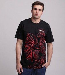 Patriotic-Eagle Shadow T-shirt Czarny