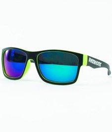 Patriotic-Futura Mat Okulary Czarne/Zielone/Niebieskie