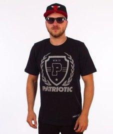 Patriotic-Shield Laur T-shirt Czarny