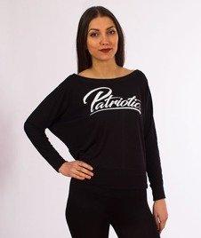 Patriotic-Spicy Bluzka z długim rękawem Damska Czarna