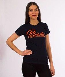 Patriotic-Spicy T-shirt Damski Granat