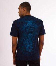 Pit Bull West Coast-Samurai T-Shirt Granatowy