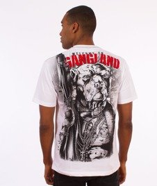 Pit Bull West Coast-Welcome To Gangland T-Shirt Biały