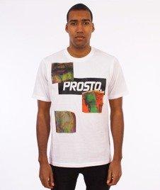 Prosto-Don't Stop The Glitch T-Shirt Biały