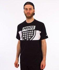 Prosto-Layer Shield T-Shirt Czarny/Biały