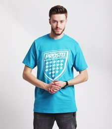 Prosto SHIELD XX T-Shirt Niebieski