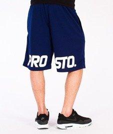 Prosto-Shorts Game Krótkie Spodnie Granatowe