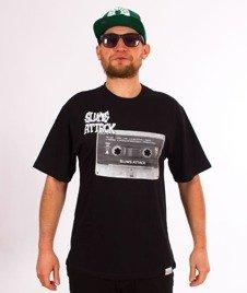 RPS KLASYKA-Tape T-Shirt Czarny