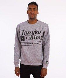 Ryzyko-Ryzyko Clthng Bluza Szara