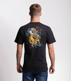 Smoke Story DRAGON T-Shirt Czarny