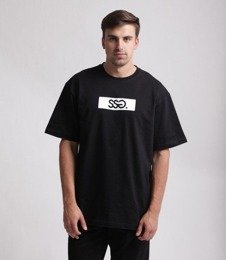 SmokeStory-Belt SSG T-Shirt Czarny