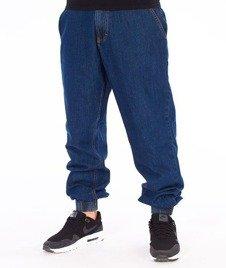 SmokeStory-Classic Jogger Jeans Regular Spodnie Medium Blue