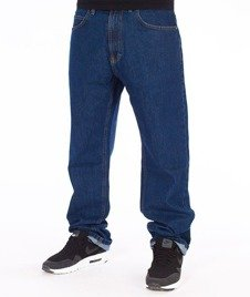 SmokeStory-Classic Slim Jeans Spodnie Medium Blue
