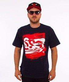 SmokeStory-Paint Tag T-Shirt Granatowy