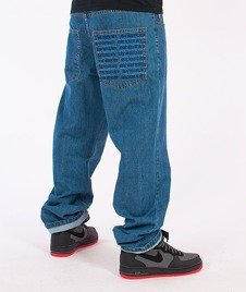 SmokeStory-Pocket Regular Jeans Light Blue