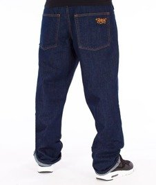 SmokeStory-SSG Tag Regular Jeans Spodnie Dark Blue