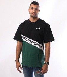 SmokeStory-Slant SSG T-Shirt Czarny/Zielony