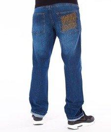 SmokeStory-Slim SMG Jeans Spodnie Wycierane