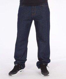 SmokeStory-Smoke Tag Regular Jeans Dark Blue