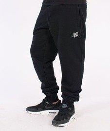 SmokeStory-Tag Slim Spodnie Dresowe Czarne