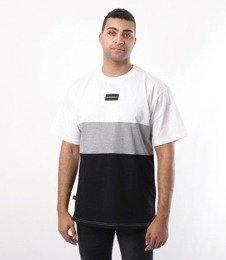 SmokeStory-Three Colors T-Shirt Biały
