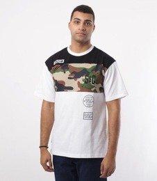 SmokeStory-Triple Street T-Shirt Biały/Czarny