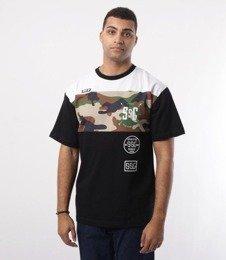 SmokeStory-Triple Street T-Shirt Czarny/Biały